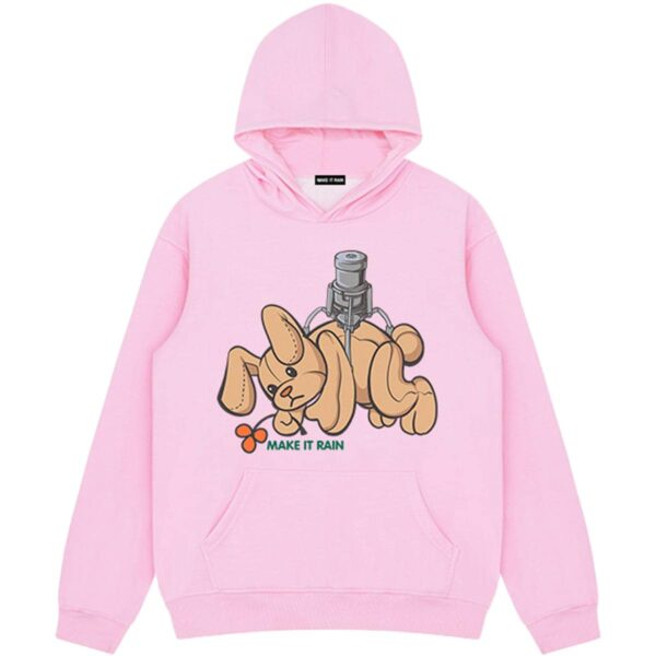 Catch Plush Toy Game Rabbit Hoodie 2 - Orezoria Aesthetic Outfits Shop - Aesthetic Clothing - eGirl Outfits - Soft Girl Outfits