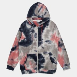 Cat's Mind Tie Dye Aesthetic Hoodie.1- Orezoria Aesthetic Outfits Shop - Aesthetic Clothing - eGirl Outfits - Soft Girl Outfits