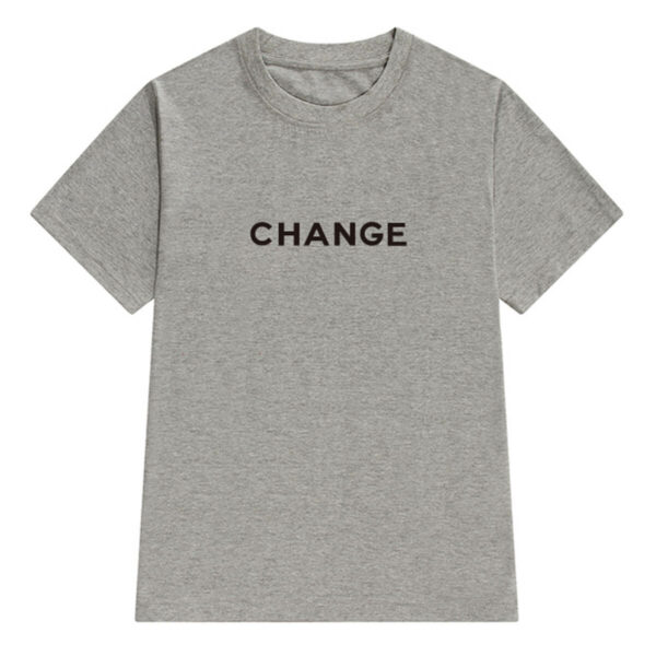 Change Letters Print Aesthetic T-Shirt (3)- Orezoria Aesthetic Outfits Shop - Aesthetic Clothing - eGirl Outfits - Soft Girl Outfits