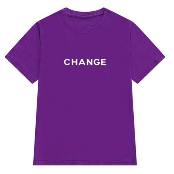 Change Letters Print Aesthetic T-Shirt (7)- Orezoria Aesthetic Outfits Shop - Aesthetic Clothing - eGirl Outfits - Soft Girl Outfits
