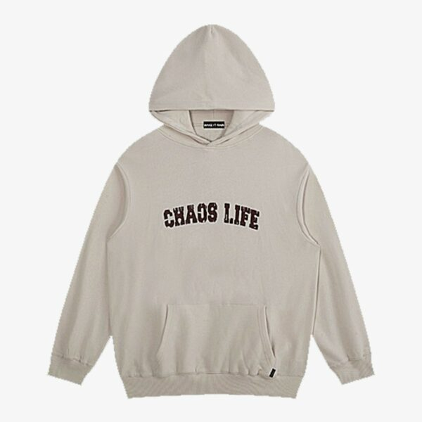 Chaos Life Core Oversized Hoodie 3- Orezoria Aesthetic Outfits Shop - Aesthetic Clothing - eGirl Outfits - Soft Girl Outfits