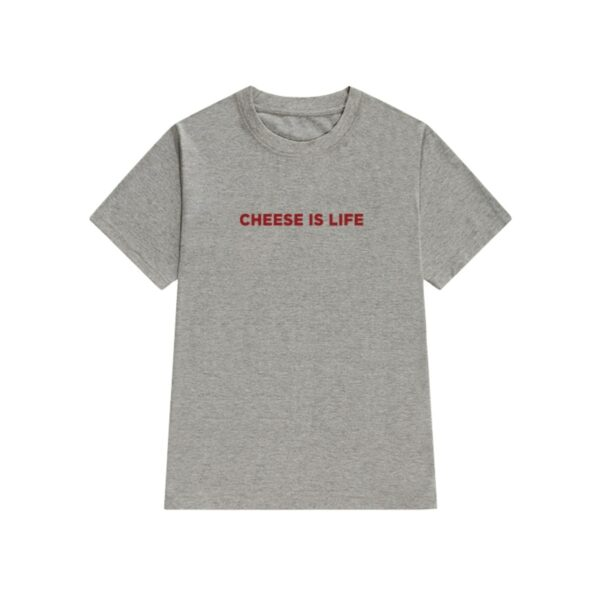 Cheese is Life Food Core Aesthetic T-Shirt - Orezoria Aesthetic Outfits Shop - Aesthetic Clothing - eGirl Outfits - Soft Girl Outfits.psd