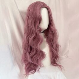 Cherry Blossom Rose Long Soft Girl Wig (6)- Orezoria Aesthetic Outfits Shop - Aesthetic Clothing - eGirl Outfits - Soft Girl Outfits