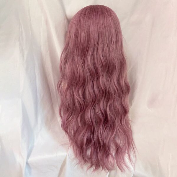 Cherry Blossom Rose Long Soft Girl Wig (7)- Orezoria Aesthetic Outfits Shop - Aesthetic Clothing - eGirl Outfits - Soft Girl Outfits