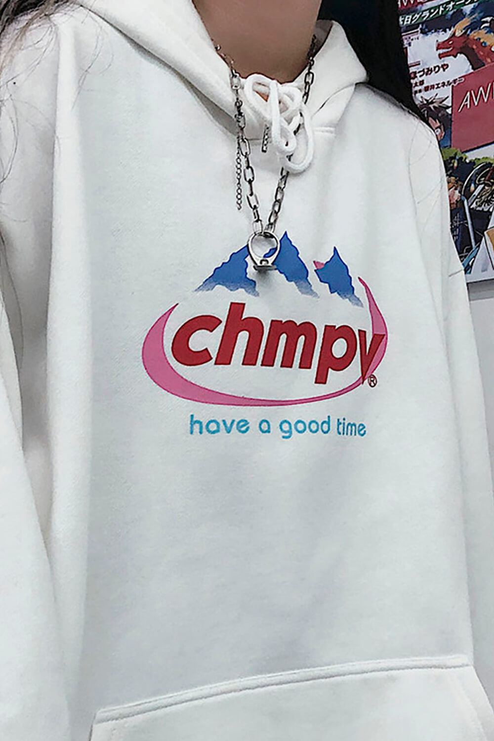 Chhmpy Evian Reference Egirl Hoodie