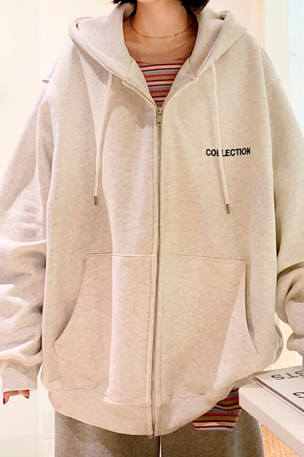 Collection Oversized Korean Hoodie