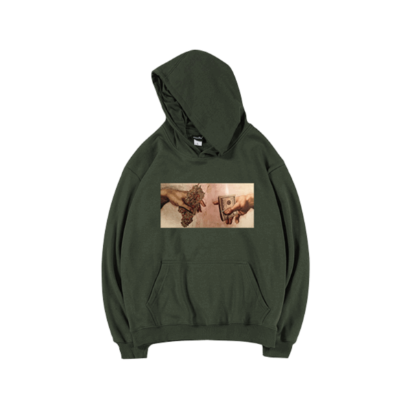 Creation of Adam Money Weed Hoodie - Orezoria Aesthetic Outfits Shop - Aesthetic Clothing - eGirl Outfits - Soft Girl Outfits.psd