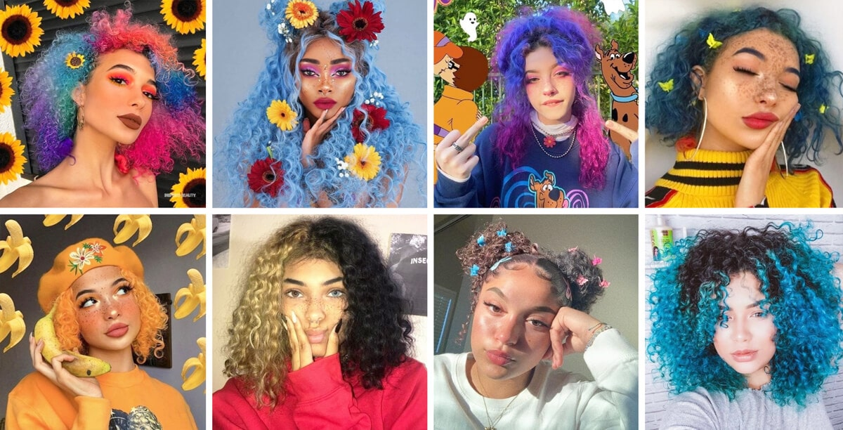 Curly Hairstyles Aesthetic Haircuts EGirl Hairstyles Guide Hair Coloring and EGirl Wigs Orezoria Blog