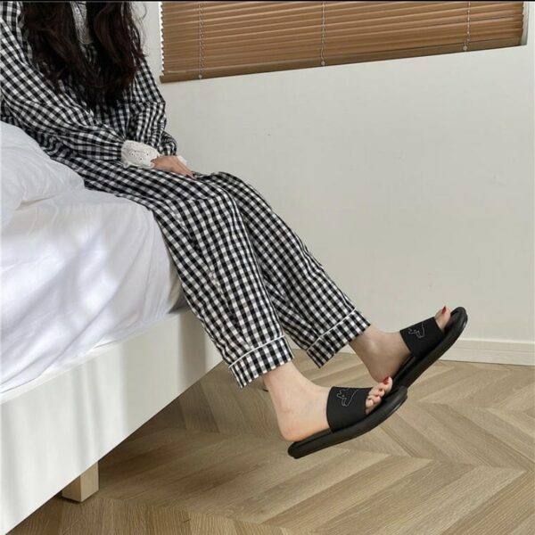 Cute Bunny Kawaii Aesthetic Slides.1- Orezoria Aesthetic Outfits Shop - Aesthetic Clothing - eGirl Outfits - Soft Girl Outfits