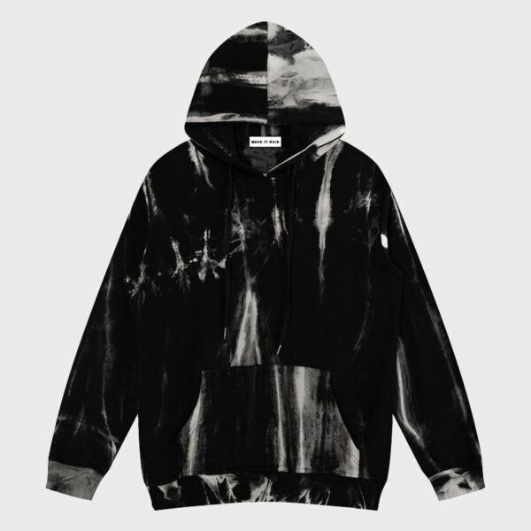 Dark Art Sense Tie Dye Aesthetic Hoodie - Orezoria Aesthetic Outfits Shop - Aesthetic Clothing - eGirl Outfits - Soft Girl Outfits.psd
