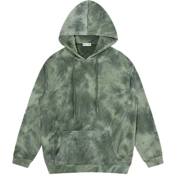 Dark Fashion Tie Dye Decadent Core Hoodie 2 - Orezoria Aesthetic Outfits Shop - Aesthetic Clothing - eGirl Outfits - Soft Girl Outfits
