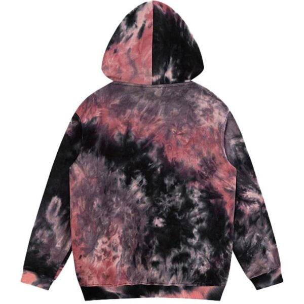 Dark Fashion Tie Dye Decadent Core Hoodie 3 - Orezoria Aesthetic Outfits Shop - Aesthetic Clothing - eGirl Outfits - Soft Girl Outfits