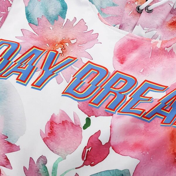 Day Dream Flowers Print Soft Hoodie - Orezoria Aesthetic Outfits Shop - Aesthetic Clothing - eGirl Outfits - Soft Girl Outfits.psd