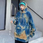 Dazzed Tie Dye Aesthetic Hoodie 3- Orezoria Aesthetic Outfits Shop - Aesthetic Clothing - eGirl Outfits - Soft Girl Outfits