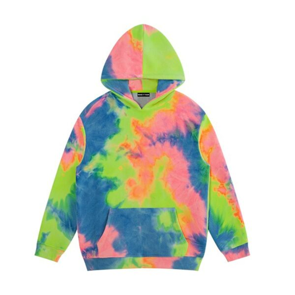 Dazzed Tie Dye Aesthetic Hoodie 6- Orezoria Aesthetic Outfits Shop - Aesthetic Clothing - eGirl Outfits - Soft Girl Outfits