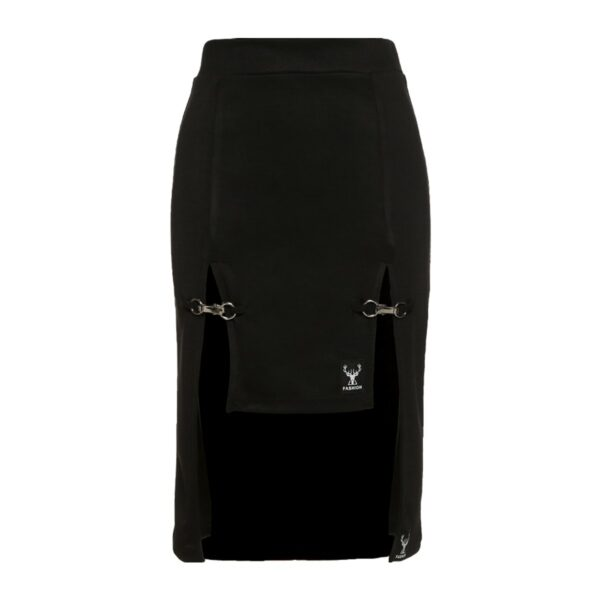Deer Fashion Knee Long Double Strap Skirt 5- Orezoria Aesthetic Outfits Shop - Aesthetic Clothing - eGirl Outfits - Soft Girl Outfits