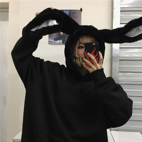 Donnie Darko Rabbit Ears Hoodie 2 - Orezoria Aesthetic Outfits Shop - Aesthetic Clothing - eGirl Outfits - Soft Girl Outfits.psd