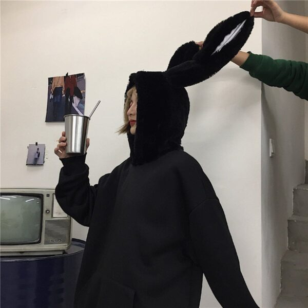 Donnie Darko Rabbit Ears Hoodie 3 - Orezoria Aesthetic Outfits Shop - Aesthetic Clothing - eGirl Outfits - Soft Girl Outfits.psd