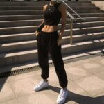 Elastic Waist Casual Sport Pants 3 - Orezoria Aesthetic Outfits Shop - Aesthetic Clothing - eGirl Outfits - Soft Girl Outfits.psd