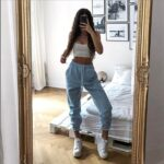 Elastic Waist Casual Sport Pants 4 - Orezoria Aesthetic Outfits Shop - Aesthetic Clothing - eGirl Outfits - Soft Girl Outfits.psd
