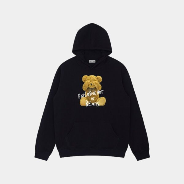 Explosive Art of Bears Hoodie 11 - Orezoria Aesthetic Outfits Shop - Aesthetic Clothing - eGirl Outfits - Soft Girl Outfits.psd