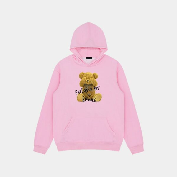 Explosive Art of Bears Hoodie 4 4 - Orezoria Aesthetic Outfits Shop - Aesthetic Clothing - eGirl Outfits - Soft Girl Outfits.psd