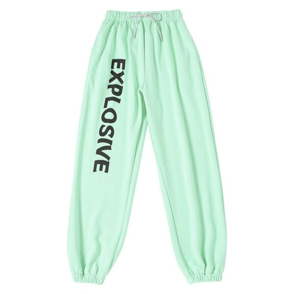 Explosive Mint Green Workout Pants 4- Orezoria Aesthetic Outfits Shop - Aesthetic Clothing - eGirl Outfits - Soft Girl Outfits