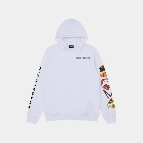 Fast Food Sleeve Print Hoodie 1 - Orezoria Aesthetic Outfits Shop - Aesthetic Clothing - eGirl Outfits - Soft Girl Outfits.psd