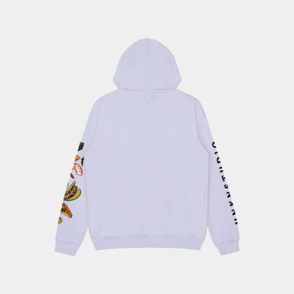 Fast Food Sleeve Print Hoodie 2 - Orezoria Aesthetic Outfits Shop - Aesthetic Clothing - eGirl Outfits - Soft Girl Outfits.psd
