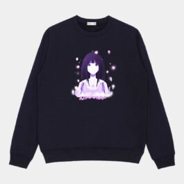 Fireflies Confused Anime Girl Sweatshirt 1- Orezoria Aesthetic Outfits Shop - Aesthetic Clothing - eGirl Outfits - Soft Girl Outfits