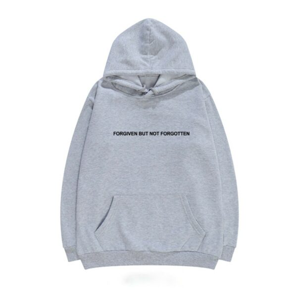 Forgiven But Not Forgotten Quote Hoodie - Orezoria Aesthetic Outfits Shop - Aesthetic Clothing - eGirl Outfits - Soft Girl Outfits.psd