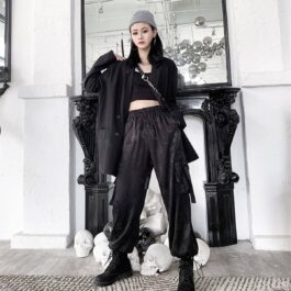 Gradient Dragon East Core Aesthetic Pants 1- Orezoria Aesthetic Outfits Shop - Aesthetic Clothing - eGirl Outfits - Soft Girl Outfits