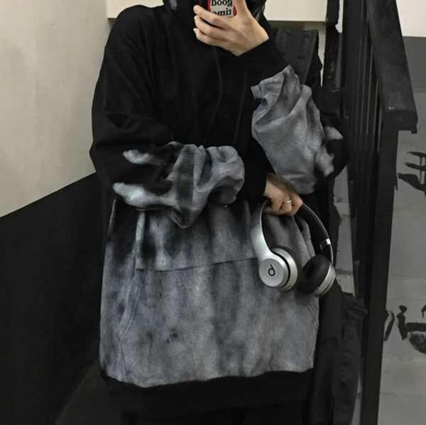 Gray Warden Ombre Core Aesthetic Hoodie 4 - Orezoria Aesthetic Outfits Shop - Aesthetic Clothing - eGirl Outfits - Soft Girl Outfits