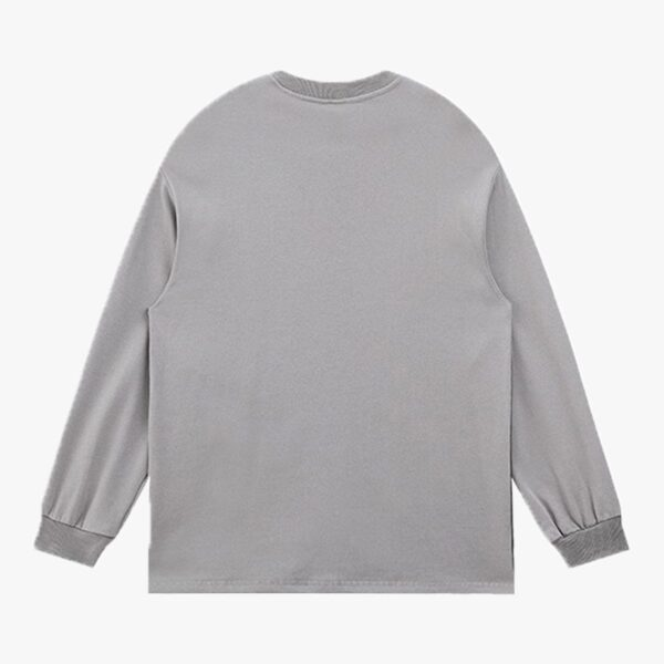 Grunge Gradient Long Sleeve Pullover 4- Orezoria Aesthetic Outfits Shop - Aesthetic Clothing - eGirl Outfits - Soft Girl Outfits