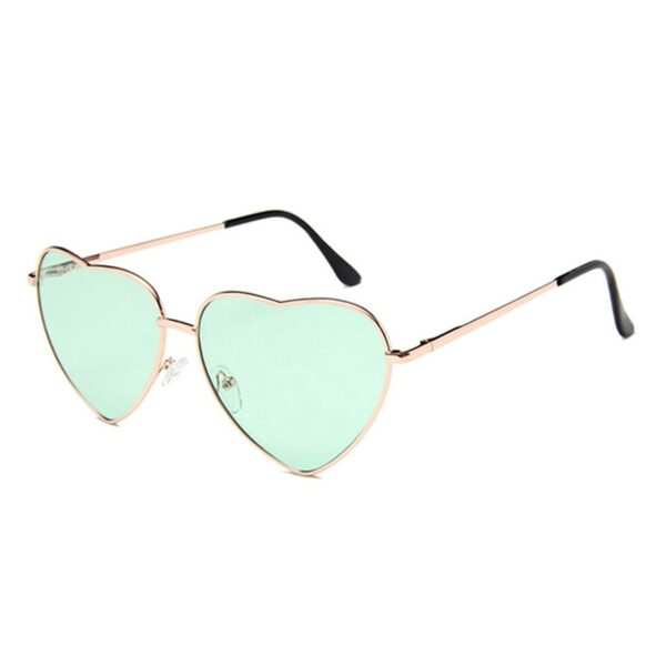 Heart Shaped Frame Colored Glasses 1 (2)- Orezoria Aesthetic Outfits Shop - Aesthetic Clothing - eGirl Outfits - Soft Girl Outfits
