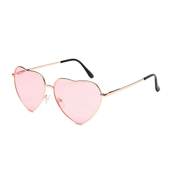 Heart Shaped Frame Colored Glasses 1 (3)- Orezoria Aesthetic Outfits Shop - Aesthetic Clothing - eGirl Outfits - Soft Girl Outfits
