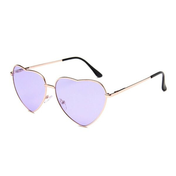 Heart Shaped Frame Colored Glasses 1 (4)- Orezoria Aesthetic Outfits Shop - Aesthetic Clothing - eGirl Outfits - Soft Girl Outfits