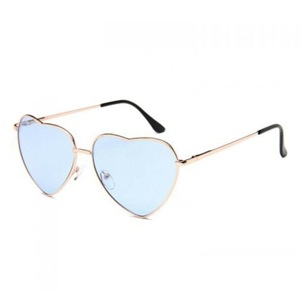 Heart Shaped Frame Colored Glasses 1 (5)- Orezoria Aesthetic Outfits Shop - Aesthetic Clothing - eGirl Outfits - Soft Girl Outfits