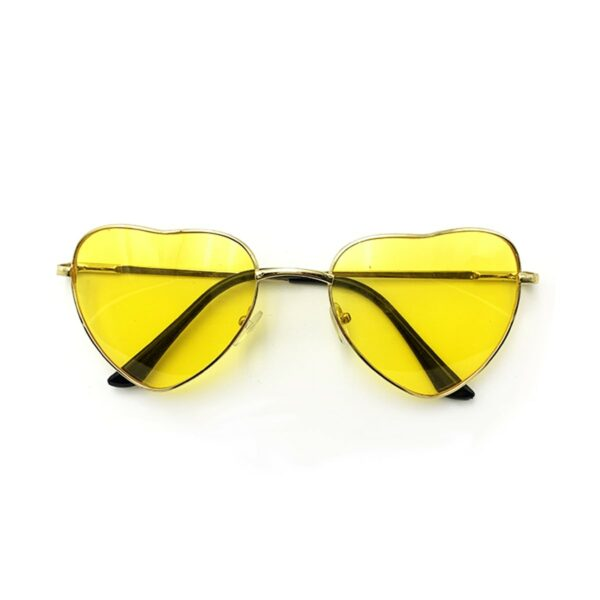 Heart Shaped Frame Colored Glasses 1 (7)- Orezoria Aesthetic Outfits Shop - Aesthetic Clothing - eGirl Outfits - Soft Girl Outfits
