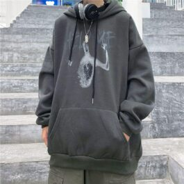 Help Me Horror Core Aesthetic Hoodie 2- Orezoria Aesthetic Outfits Shop - Aesthetic Clothing - eGirl Outfits - Soft Girl Outfits