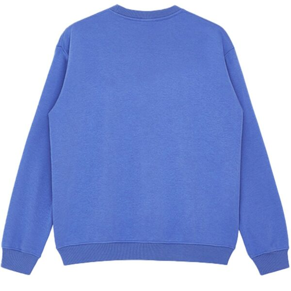 Holiday is Coming Blue Sweatshirt 2 - Orezoria Aesthetic Outfits Shop - Aesthetic Clothing - eGirl Outfits - Soft Girl Outfits