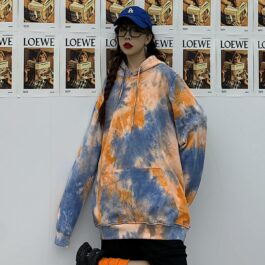 Holy Light Tie Dye Oversized Hoodie.1- Orezoria Aesthetic Outfits Shop - Aesthetic Clothing - eGirl Outfits - Soft Girl Outfits