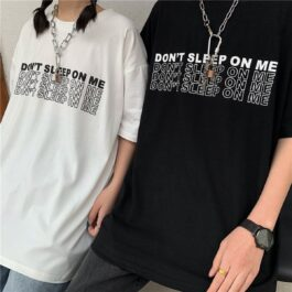 I Don't Belong Here Korean Grunge Tee - Orezoria Aesthetic Outfits Shop - Aesthetic Clothing - eGirl Outfits - Soft Girl Outfits.psd