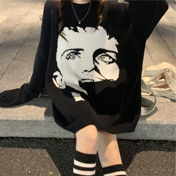 Ian Curtis Joy Division Post Punk Sweater 3- Orezoria Aesthetic Outfits Shop - Aesthetic Clothing - eGirl Outfits - Soft Girl Outfits.psd