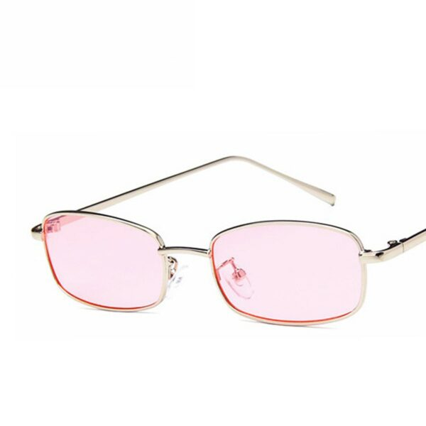 Inflated Rectangular Red Aesthetic Glasses 1- Orezoria Aesthetic Outfits Shop - Aesthetic Clothing - eGirl Outfits - Soft Girl Outfits (3)