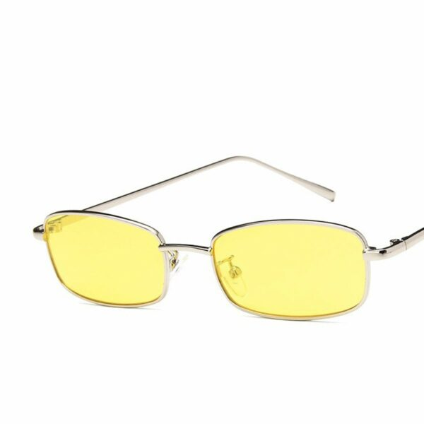 Inflated Rectangular Red Aesthetic Glasses 1- Orezoria Aesthetic Outfits Shop - Aesthetic Clothing - eGirl Outfits - Soft Girl Outfits (4)