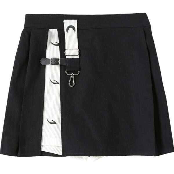 Layered Retro Contrast Hakama Skirt 4 - Orezoria Aesthetic Outfits Shop - Aesthetic Clothing - eGirl Outfits - Soft Girl Outfits