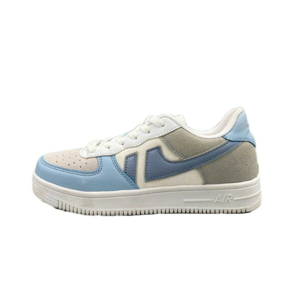 Light Cobalt Blue Aesthetic Sneakers 1- Orezoria Aesthetic Outfits Shop - Aesthetic Clothing - eGirl Outfits - Soft Girl Outfits