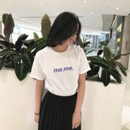 Meme Typecore Aesthetic Loose T-Shirt 1 - Orezoria Aesthetic Outfits Shop - Aesthetic Clothing - eGirl Outfits - Soft Girl Outfits