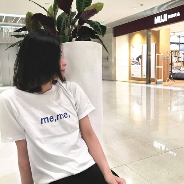 Meme Typecore Aesthetic Loose T-Shirt 2 - Orezoria Aesthetic Outfits Shop - Aesthetic Clothing - eGirl Outfits - Soft Girl Outfits